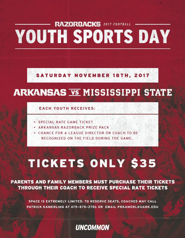 Razorback Youth Sports Day